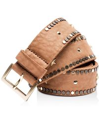 Zadig & Voltaire - Starlight Leather Belt - Lyst
