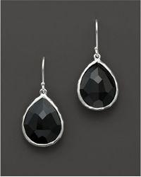 Ippolita - Sterling Silver Rock Candy Small Teardrop Earrings In Black Onyx - Lyst