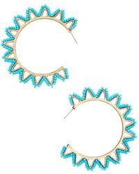 BaubleBar - Mariza Hoop Earrings - Lyst