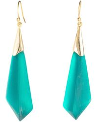 Alexis Bittar - Faceted Wire Earrings - Lyst