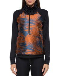 Koral - Printed Funnel-neck Sweatshirt - Lyst