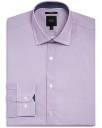 W.r.k. - Micro Stripes Slim Fit Dress Shirt - Lyst