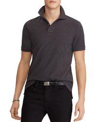 Polo Ralph Lauren - Polo Mesh Custom Slim Fit Polo Shirt - Lyst