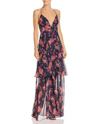 Fame & Partners - Wyatt Floral Tiered Gown - Lyst