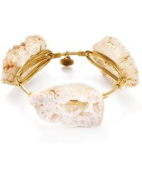 Bourbon and Boweties - Geode Bangle - Lyst