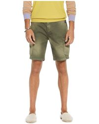 Scotch & Soda - Washed Cargo Regular Fit Shorts - Lyst