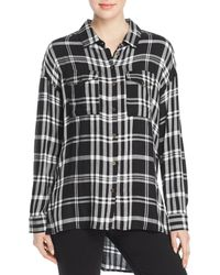 Velvet Heart - Wilta Plaid Tunic Shirt - Lyst