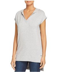 Marc New York - Performance Hooded High/low Tunic Top - Lyst