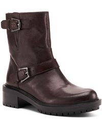 Botkier - Women's Marlow Leather Moto Boots - Lyst
