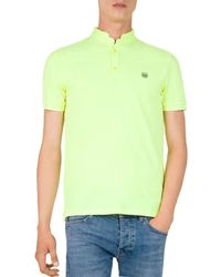 The Kooples - New Shiny Pique Slim Fit Polo - Lyst