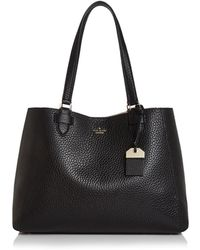 Kate Spade - Carter Street Leather Tyler Tote - Lyst