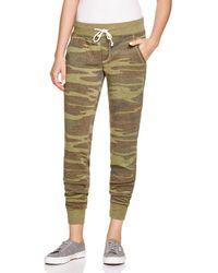 Alternative Apparel - Camouflage Sweatpants - Lyst