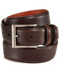 Trafalgar - Corvino Double-keeper Leather Belt - Lyst