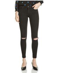 Maje - Priska Distressed Skinny Jeans - Lyst