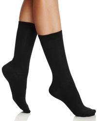 Hue - Solid Femme Socks - Lyst