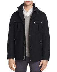 Cole Haan - Melton Wool Trucker Jacket - Lyst