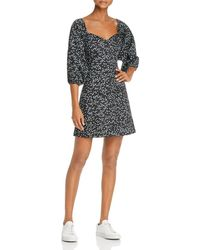 Parker - Hattie Printed Dress - Lyst