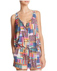 Blush By Profile - Candy Apple Romper Swim Cover-up - Lyst