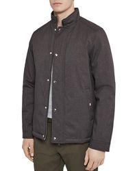Reiss - Heath Funnel-neck Jacket - Lyst