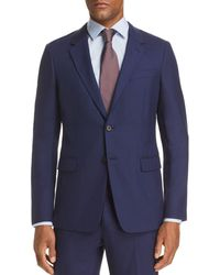 Theory - Chambers Sharkskin Slim Fit Suit Jacket - Lyst