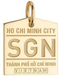 Jet Set Candy - Sgn Ho Chi Minh City Luggage Tag Charm - Lyst