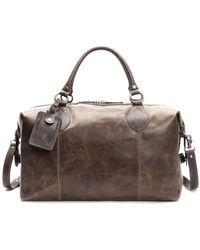 Frye - Logan Overnight Leather Duffle Bag - Lyst