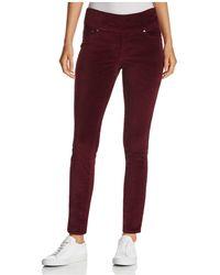 Jag Jeans - Nora Skinny Velvet Leggings In Black - Lyst