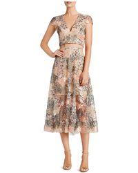 Dress the Population - Juliana Crop Top & Skirt Set - Lyst