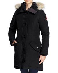 Canada Goose - Rossclair Fur Trim Down Parka - Lyst