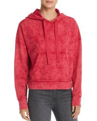 Kenneth Cole - Cropped Hoodie - Lyst