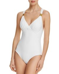 04587d1f9d573 Miraclesuit - Only Live Twice Horizon One Piece Swimsuit - Lyst