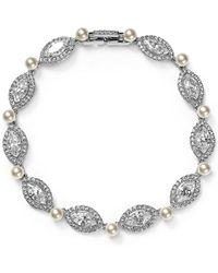 Nadri - Crystal Tennis Bracelet - Lyst