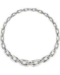 David Yurman - Wellesley Short Chain Necklace With Diamonds - Lyst