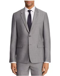 Theory   Chambers Tailored Gingham Slim Fit Suit Separate Sport Coat   Lyst