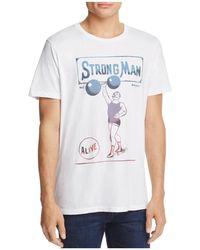 Junk Food | Strong Man Crewneck Short Sleeve Tee | Lyst