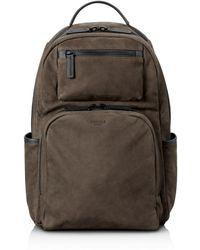 Shinola - Nubuck Utility Backpack - - Lyst