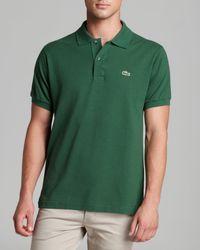 Lacoste - Classic Short Sleeve Piqué Polo Shirt - Lyst