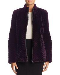Maximilian - Sheared Beaver Fur Jacket - Lyst