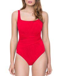 Gottex - Vista One Piece Swimsuit - Lyst