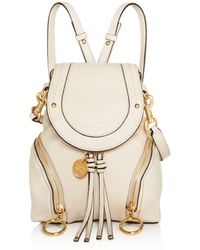 See By Chloé - Olga Small Leather Backpack - Lyst