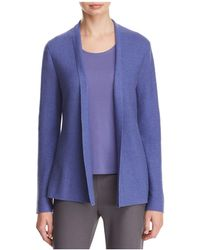 Eileen Fisher | Simple Open Cardigan | Lyst
