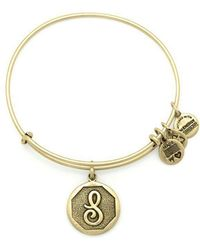 ALEX AND ANI | Initial Bangle | Lyst
