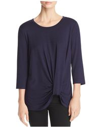 Kim & Cami | Cinched-front Top | Lyst