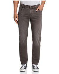 J Brand - Tyler Thrashed Slim Fit Jeans - Lyst