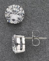 Nadri - Large Stud Earrings - Lyst