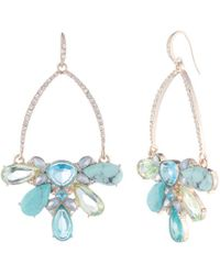 Carolee - Drama Cluster Gypsy Earrings - Lyst
