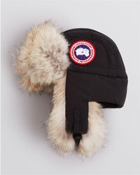 Canada Goose | Fur-Lined Aviator Hat | Lyst