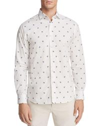 Vilebrequin - Spaced Out Turtle Long Sleeve Button-down Shirt - Lyst