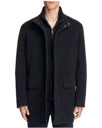 Cole Haan - Wool Cashmere Car Coat - Lyst