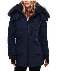 Sam. - Cruiser Fur Trim Down Coat - Lyst